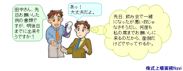 株式上場,コミュニケーション